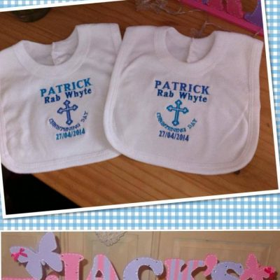Pullover baby bibs