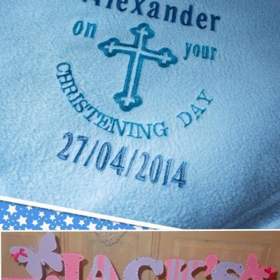 Baby Blanket Christening