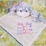 bunny comfort blanket