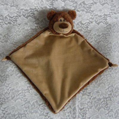 bear cubbie comfort blanket