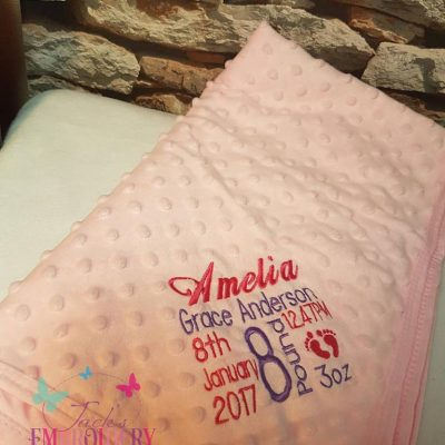dimple blanket