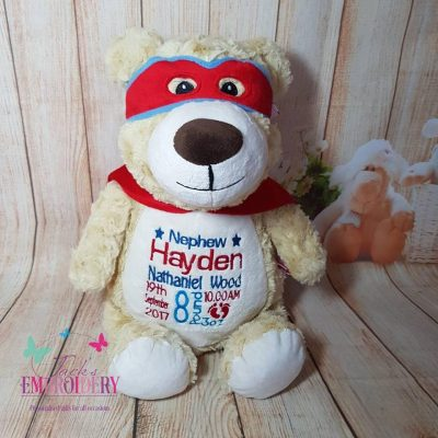HERO BEAR Personalised teddy