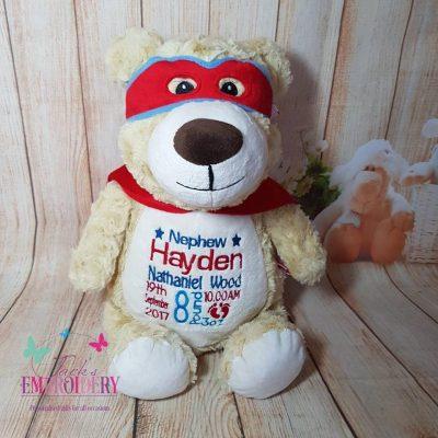 HERO BEAR Personalised teddy