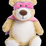 PINK HERO BEAR