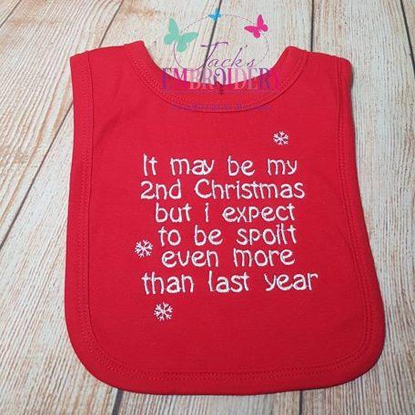 Christmas bib